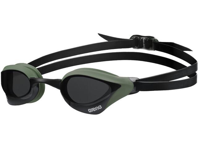arena Cobra Core Swipe Lunettes de protection, smoke/army/black